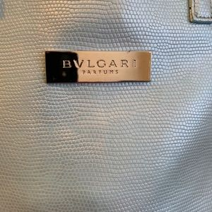 BVLGARI Bag Tote Blue